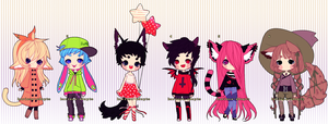 Emergency Adopts (CLOSED) by Kariosa-Adopts