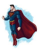 Man of Steel by jeftoon01
