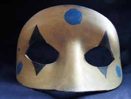 Party Poison leather mask by maskedzone