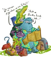 monsters have no sense of direction by coffeebandit