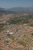 Malaga from the air by archaeopteryx-stocks