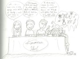 Erik as American Idol judge by InYuJi
