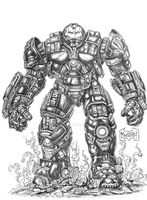 Iron Man HulkBuster by Xpendable