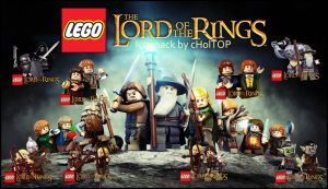 lego the lord of the ring icon pack by cHolTOP