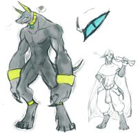 Abasi Beast Form by Albo-Beati7