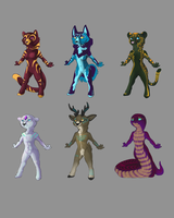 random batch adopts by ElysianImagery