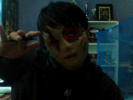 BloodLust and his shuriken by UnitInfinity