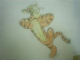 Tigger by redwolf18blue