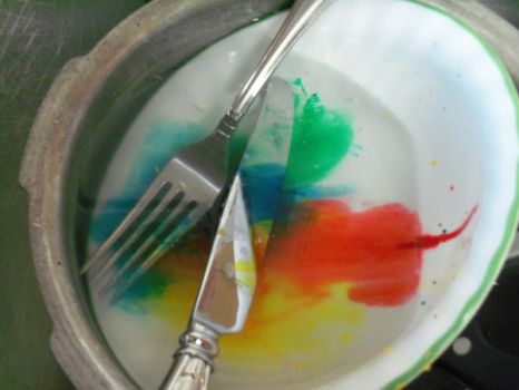 Colorful Dishes by Xne