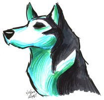 Brush Breeds-Siberian Husky by Stray-Sketches