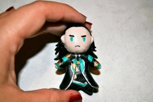 Little Loki Keychain by Kitty-Kibbles