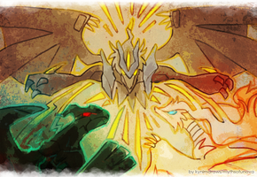 Nuzlocke White: The Dragons by ky-nim