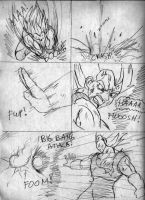 Goku vs. Vegeta Page5 by ViperXtreme