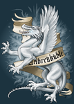 Unbreakable - White dragon by ThunderboltFire