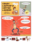 Crazy Lester's Coffee Lesson by LoranJSkinkis