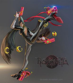 Bayonetta by DevilsAlly