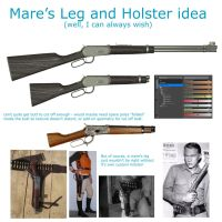 Mares Leg and Holster by JV-Andrew