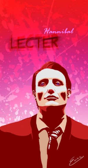 Hannibal Lecter by xEmmex