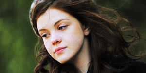 Georgie Henley Header by sambart