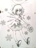 T-Shirt Cirno04 by ranalez