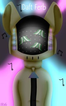 Daft Punk Ferb (musician from the Future RP) by TheFerbguy