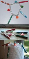 Crayon Bracelet by ForgottenFortune