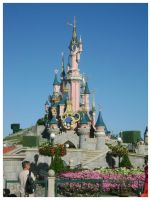 Sleeping Beauty castle by lilie-morhiril