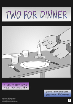 Two for dinner, p.1 (T-cest) by MsObscure