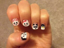 Animal Nails by imagineBeyondReality