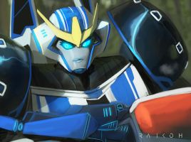 Strongarm ready for duty by Raikoh-illust