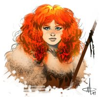 Ygritte The Wildling by mattolsonart