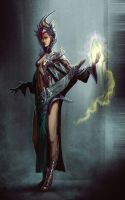 Sorceress - Scifi by TSABER