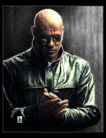 Laurence Fishburne, Morpheus by louissollune