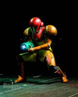 Samus Charging (World Cosplay Summit USA Finals) by d-slim
