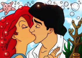Eric and Ariel by AppleLily