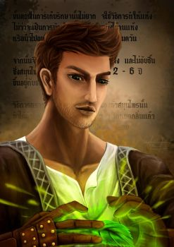 (Day 17) Herbalist - Male by ProfBell