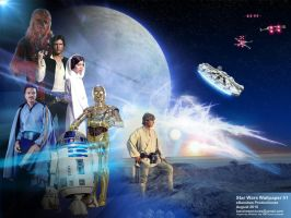 Star Wars Wallpaper by JimCorrigan