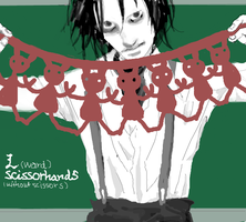 """L""ward Scissorhands by nekonekoazaraku"