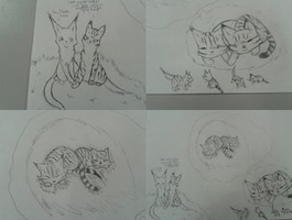 I draws at school :D!! by GiggleKittyx3