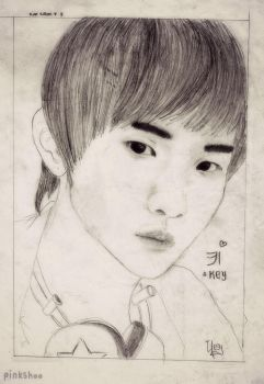 SHINee Key by pinkshoo
