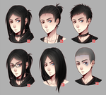 Wynter - hairstyle meme by zero0810
