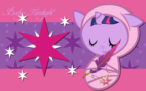 New Born Twilight Sparkle WP by AliceHumanSacrifice0