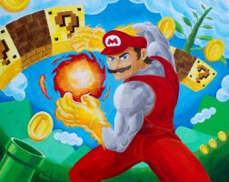 Mushroom Kingdom Fighter by MGPerez