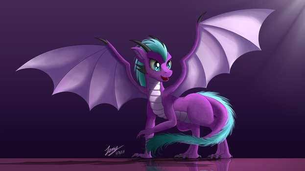 Walleria (Commission) by Duskie-06