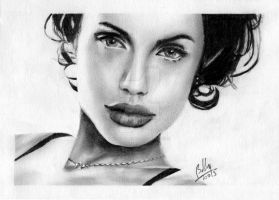 Jolie Pencil Series-II by Bobby-Sandhu