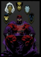Magneto by Ta2dsoul