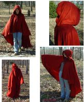 Red Cloak outside by FrockTarts
