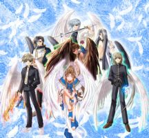 The 7 archangels by Innisss