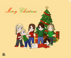 Merry christmas my friends :D by Ryushiori