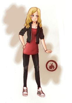 Tris the Dauntless by An-Haruno-Girl